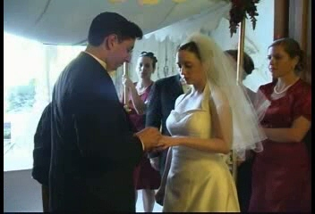 "right click and select ""save target as"" to download video of our wedding vows"